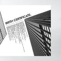 Birth Certificate - White Cover